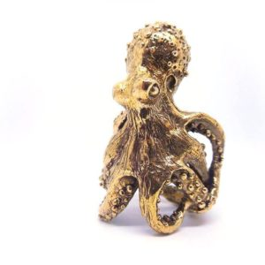 "Anello ICUDAL ""Octopus"" in Bronzo"