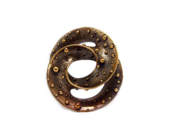 icudal, vortice, bronzo , ciondolo