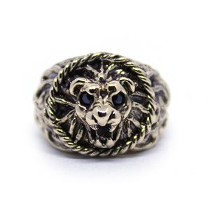 Anello_lion_icudal_stone_onice