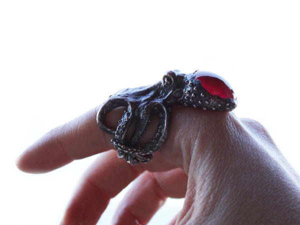 anello octopus stone icudal