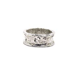 anello uomo fascia zero rh argento icudal