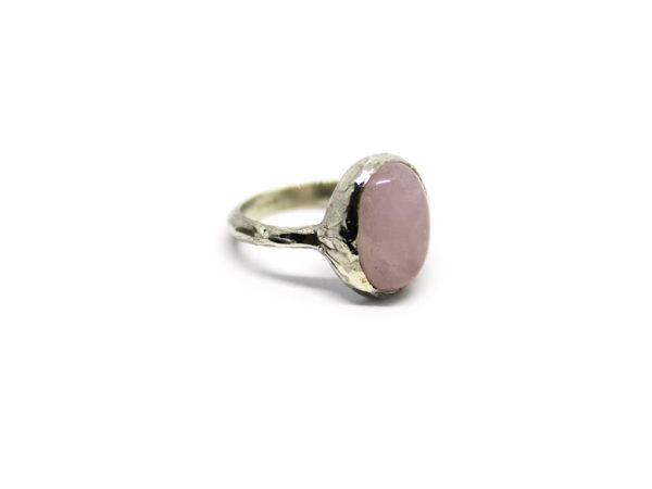 anello princess icudal quarzo rosa