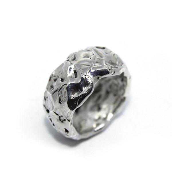 Anello moon icudal argento