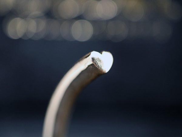 Bracciale sezione di cuore icudal