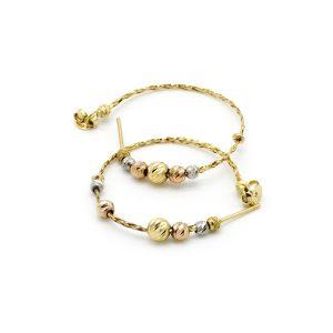 orecchini unique cerchio oro icudal